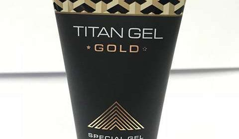 Фото геля Titan Gel Gold